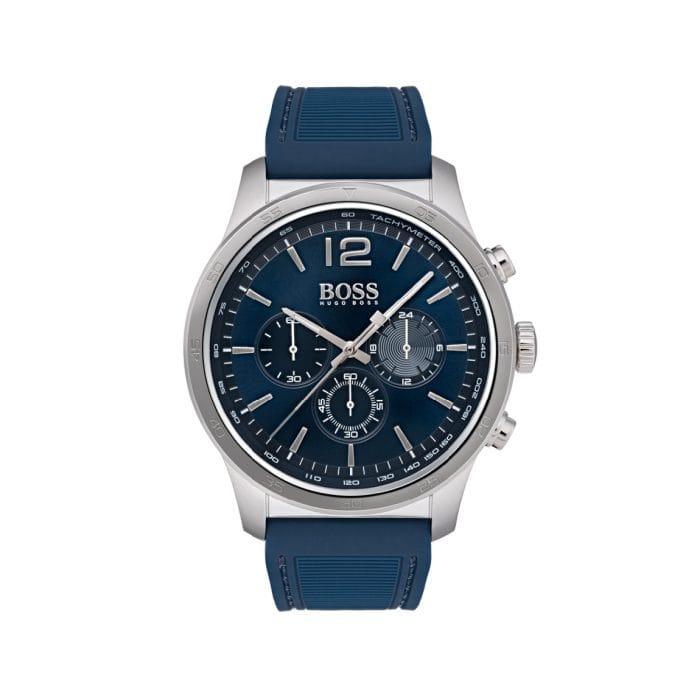 HUGO BOSS The Professional Blue Steel & Blue Watch