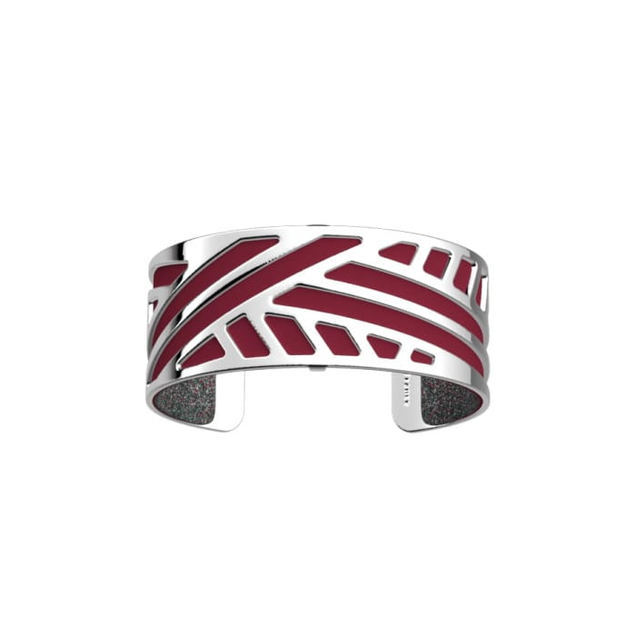 Les Georgettes Bangle with Leather Insert