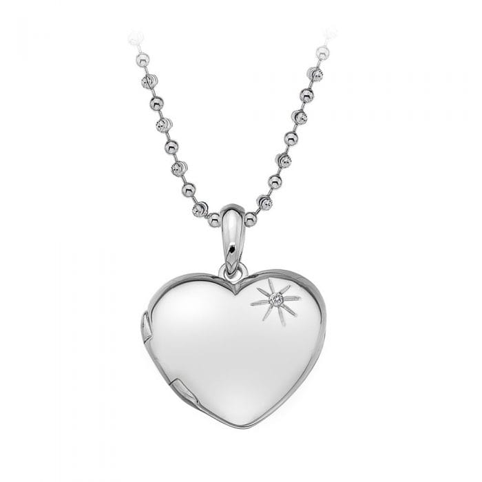 Hot Diamonds Heart Locket Pendant