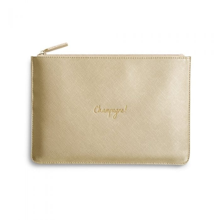 Katie Loxton 'Champagne!' Perfect Pouch Clutch Bag