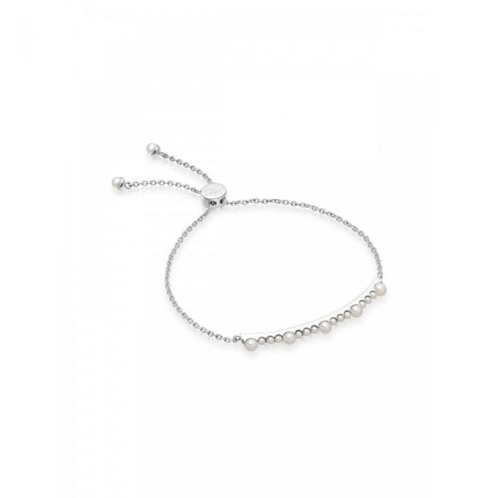 Links of London Silver and Pearl Bracelet