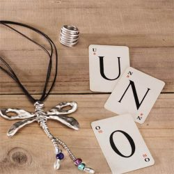Born in Madrid, UNOde50 create unique and contemporary jewellery with a commitment to quality and exclusivity. Each piece is hypoallergenic and sure to make you stand out in a crowd.