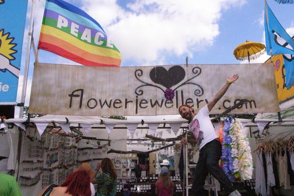 Summer Love for Shrieking Violet Flower Jewellery