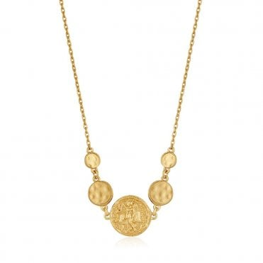 Gold Digger - Nika Necklace in Yellow Gold