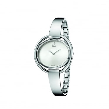 Impetuous Silver Bangle Watch