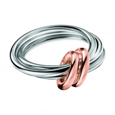 Nimble Rose Gold Ring, 7