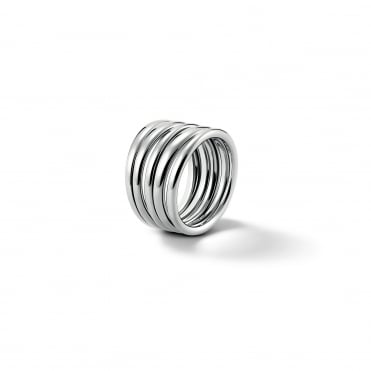 Sumptuous Silver Ring, 7