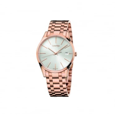 Time Rose Gold & Silver Ladies Watch