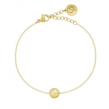 Bubbles Mini Bracelet 14 Carat Gold Plate
