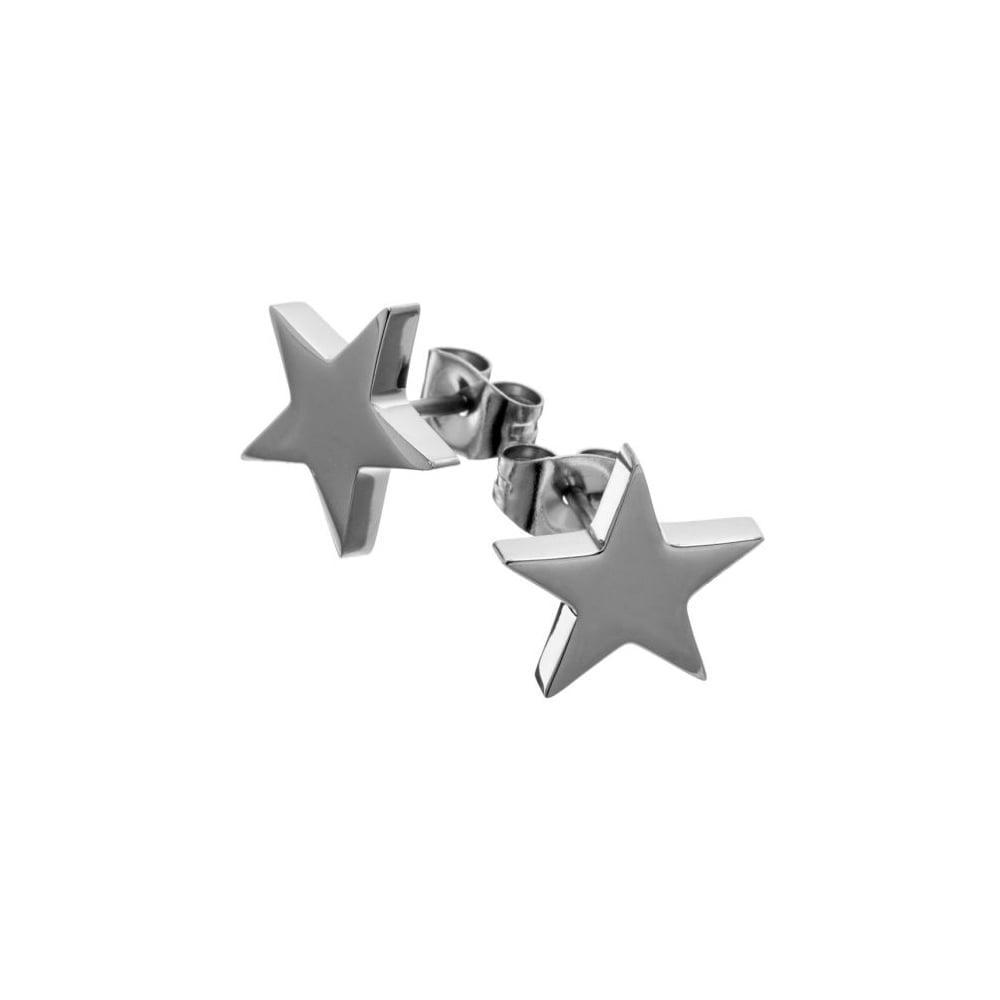 a9d49ef13 EDBLAD Large Steel Star Stud Earrings