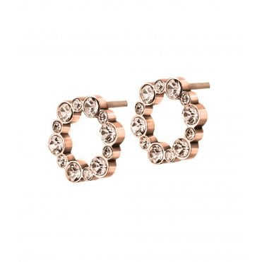 2da9fdef5 Norah Rose Gold and CZ Stud Earrings