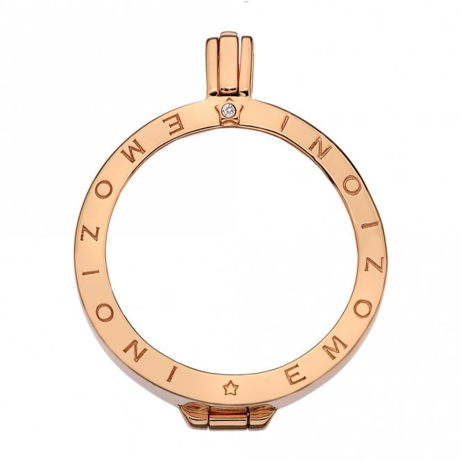 Emozioni Rose Gold Coin Keeper - 33mm