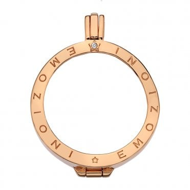 Rose Gold Coin Keeper - 33mm