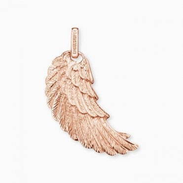 Angel Wing Rose Gold Pendant