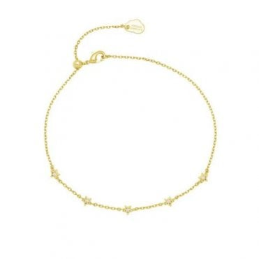 Constellation Gold-Plated Chain Bracelet