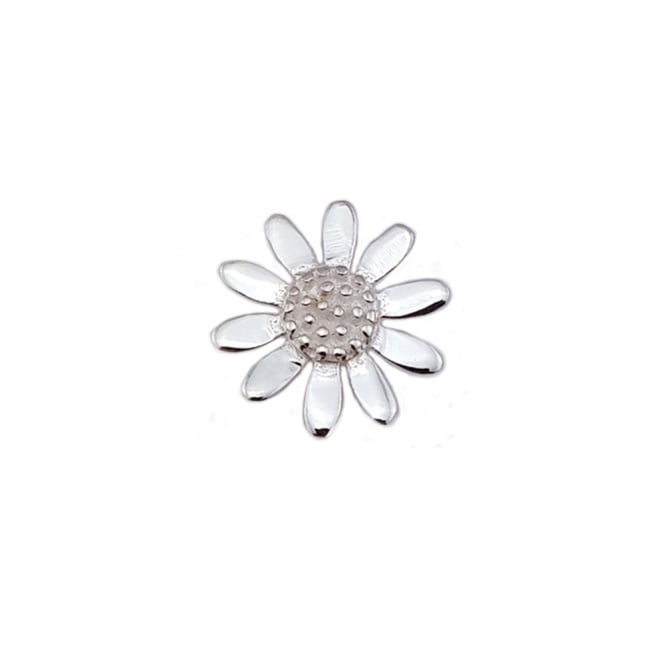 Grace & Co Silver Small Daisy Pendant Necklace