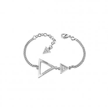 Iconic 3Angles Silver Bracelet