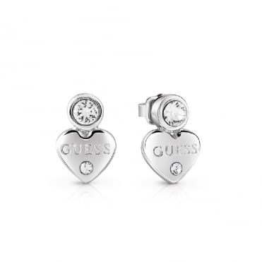 Guessy Silver Earrings