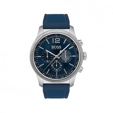Mens The Professional Blue Steel & Blue Watch