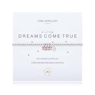 A Little Dreams Come True Silver & Rose Gold Bracelet