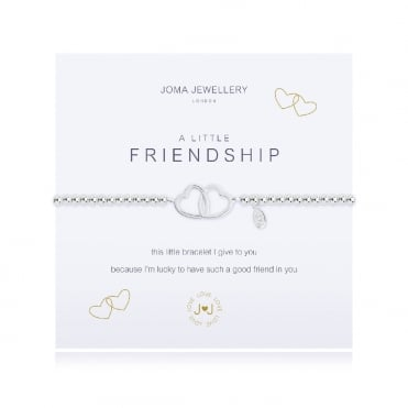A Little Friendship Silver Bracelet