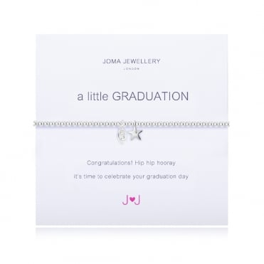 A Little Graduation Silver Bracelet