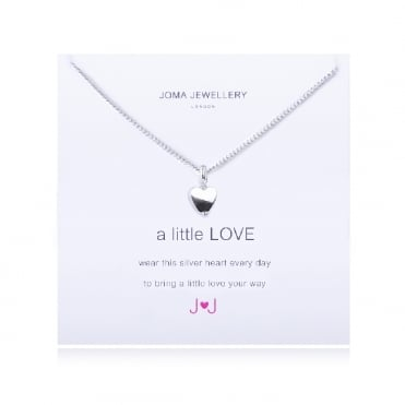 A Little Love Silver Necklace