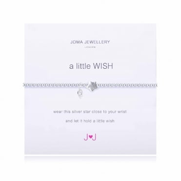 A Little Wish Silver Star Bracelet