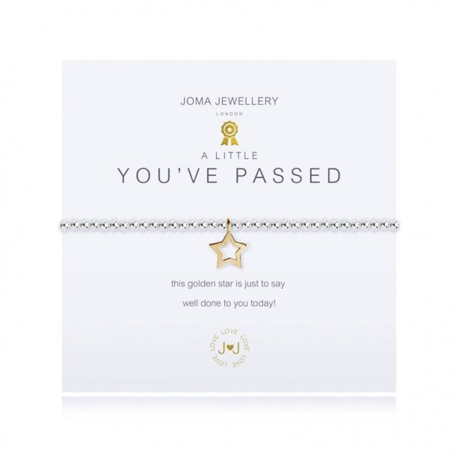 Joma Jewellery A Little You've Passed Silver and Gold Bracelet