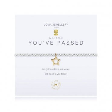 A Little You've Passed Silver and Gold Bracelet