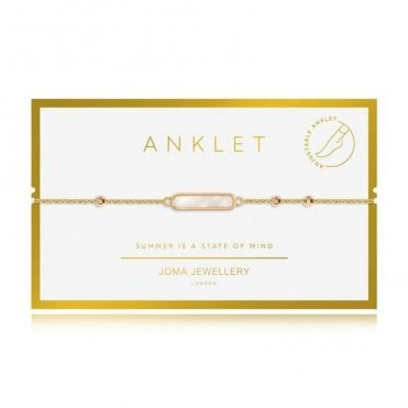 Shell Gold  Anklet