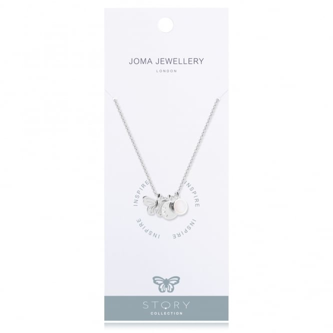 Joma Jewellery Story Inspire Silver Necklace