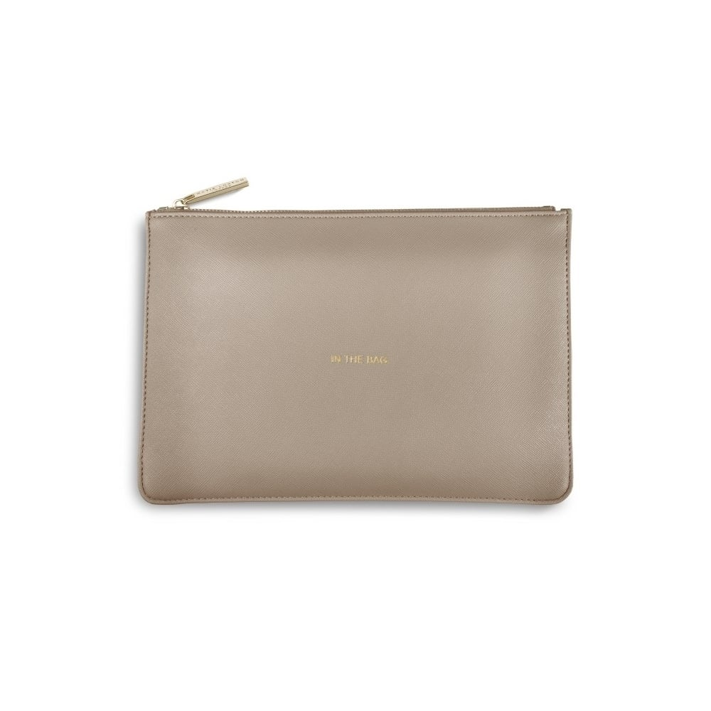 8a339fa0f KATIE LOXTON In The Bag Grey Perfect Pouch Clutch Bag