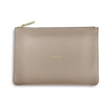 Perfect Pouch Clutch Bag In The Bag Grey