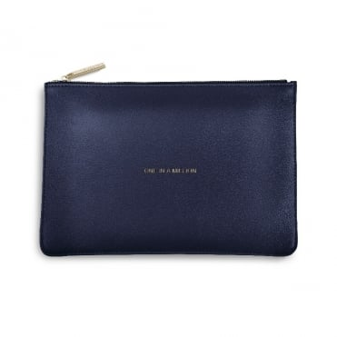 Perfect Pouch Clutch Bag One In A Million Navy