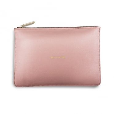 Perfect Pouch Clutch Bag Pretty In Pink Perfect Pink