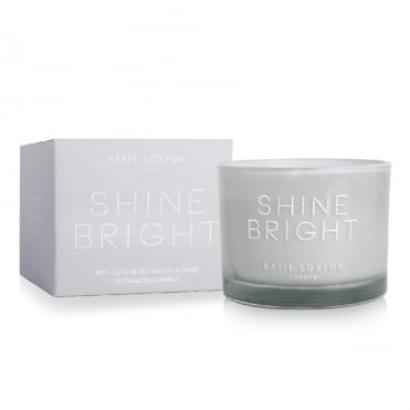 Shine Bright 2 Wick Jar Candle Sweet Lychee & Mango Flower