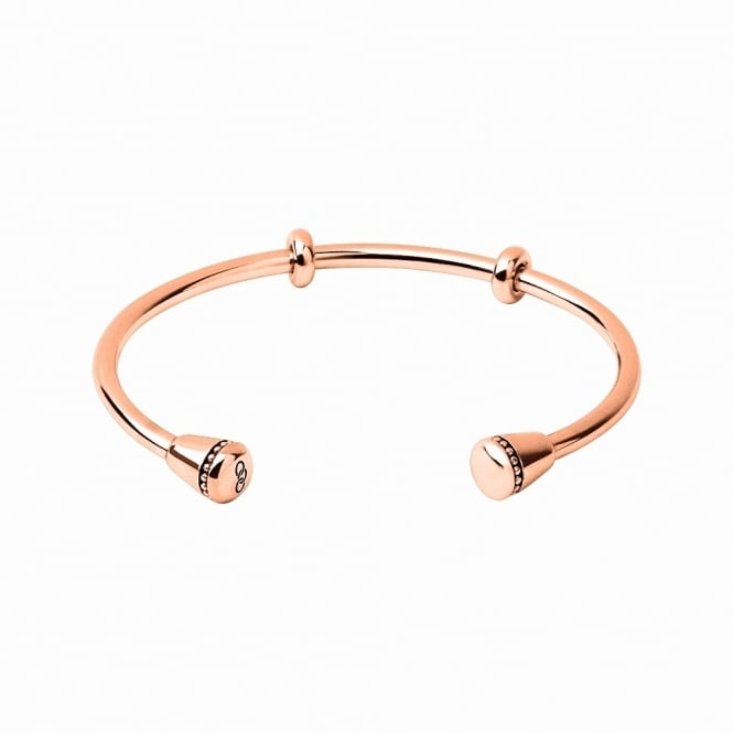 Links of London Amulet Rose Gold Charm Cuff, L