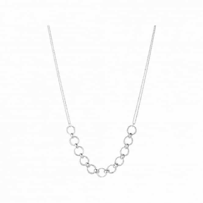 Links of London Aurora Silver Multi Link Necklace