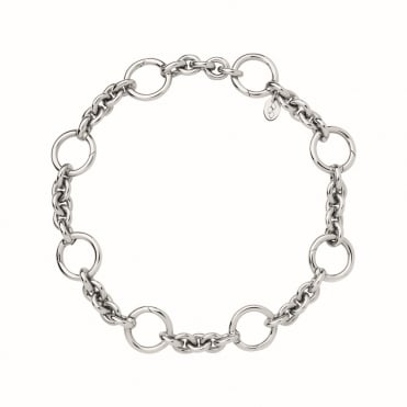 Capture Silver Charm Carrier Bracelet