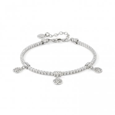 Chic & Charm Tree Of Life Bracelet in Silver with CZ