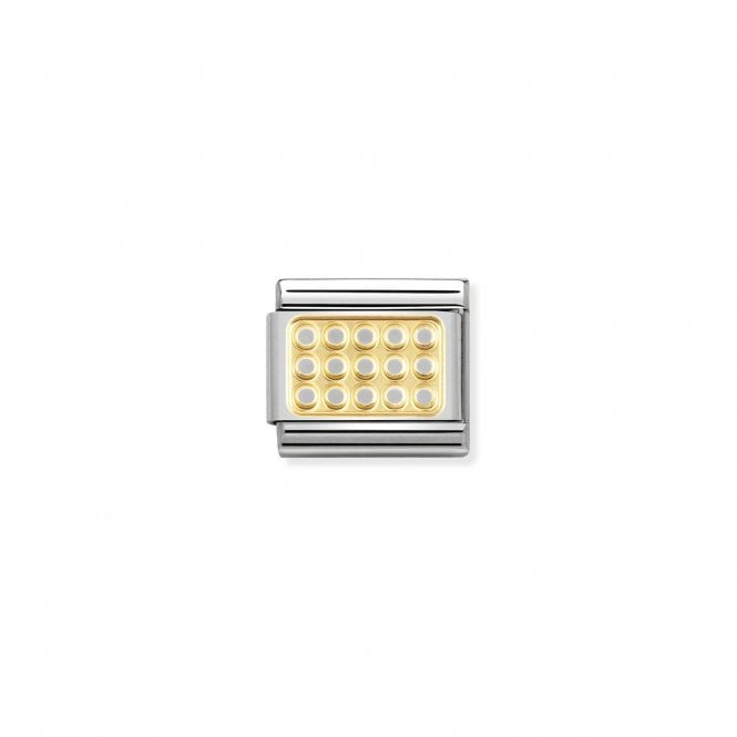 Nomination Classic Gold Grill Elegance Charms