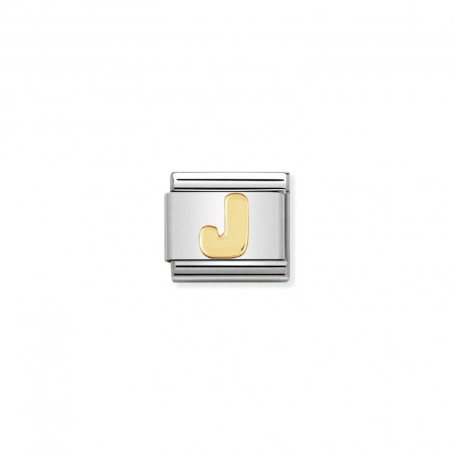 NOMINATION Classic Gold Letter J Charms