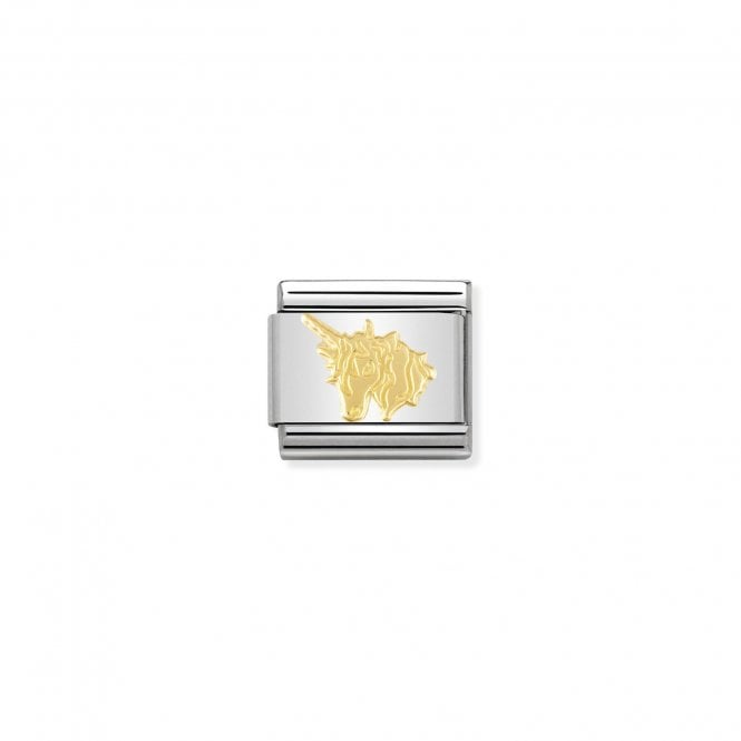NOMINATION Classic Gold Unicorn Charms