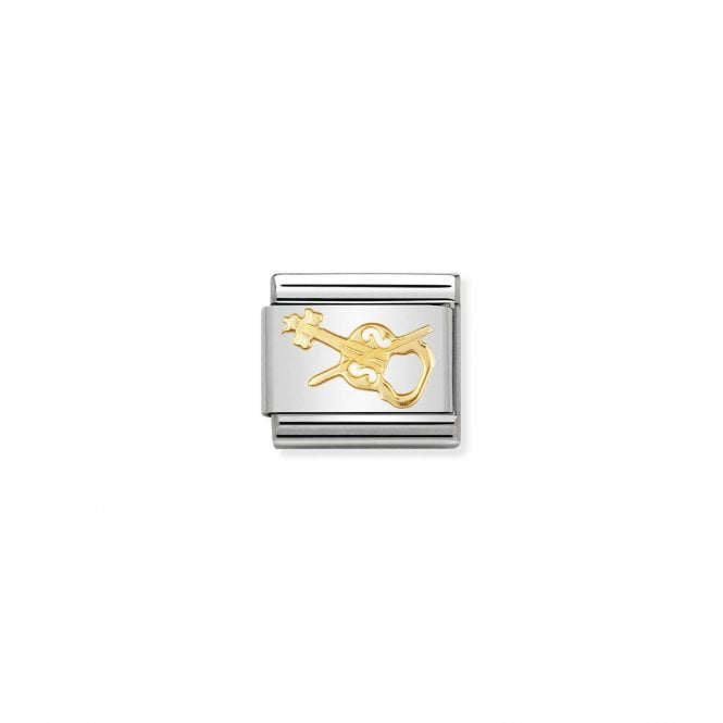 Nomination Classic Gold (Violin) Music Charms