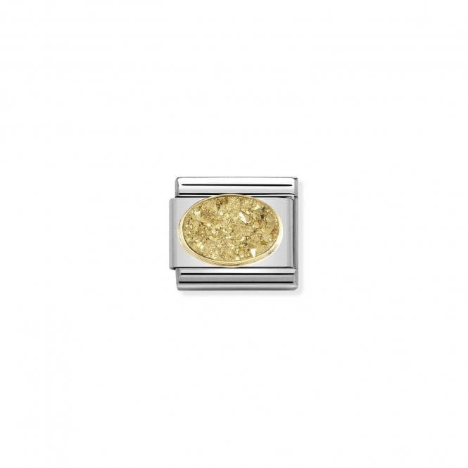 Nomination Classic Gold (Yellow Gold) Sparkly Charms