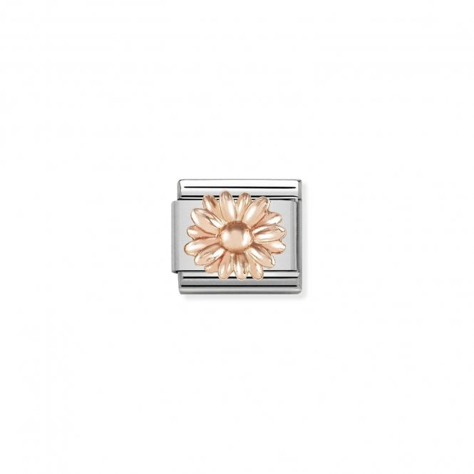 NOMINATION Classic Rose Gold Daisy Charm