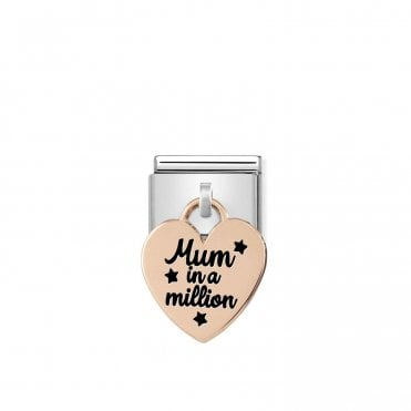 Classic Rose Gold (Mum In A Million) Friends & Family Charms