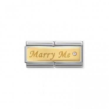 Gold (Double Marry Me) Wedding & Anniversary Charms
