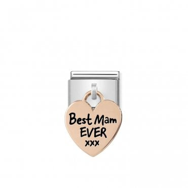 Rose Gold (Best Mam Ever) Friends & Family Charms